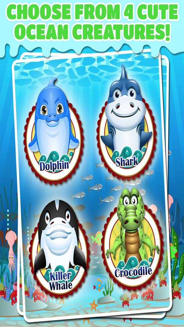 Ocean Doctor Undersea Fish Rescue Salon – Free Pet Games For Kids