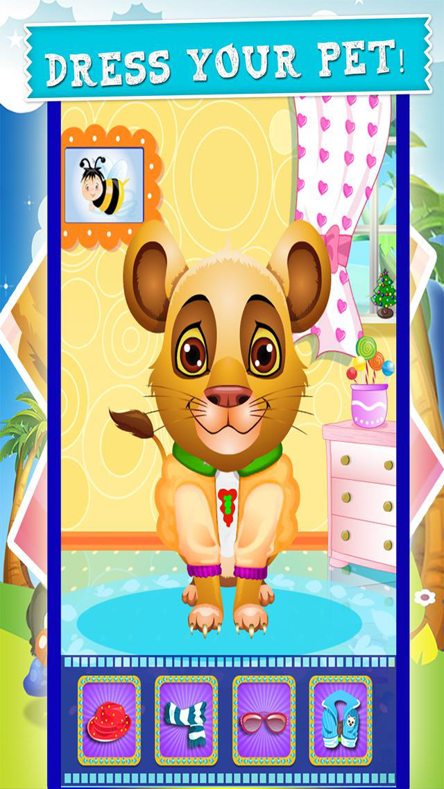 Animal Pet Spa & Beauty Salon Fashion Games For Kids