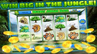 Deadly Jungle Jackpot Slots with Vegas Roulette Adventure