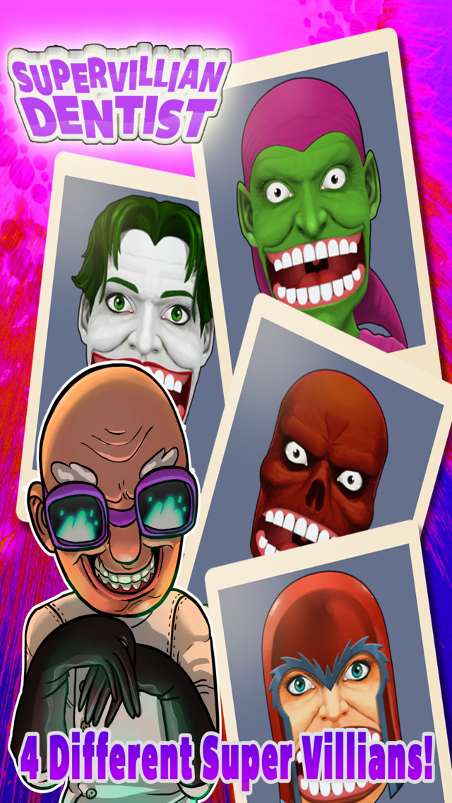 Super Villain Tooth Booth – The Anti Hero Dentist Adventure