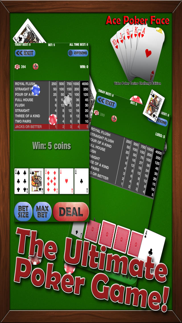 Ace Poker – World Series VIP Video Poker Game
