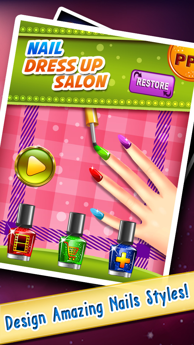 Nail Dress Up! Deluxe Edition – The Fashion & Glamour Salon Free Edition