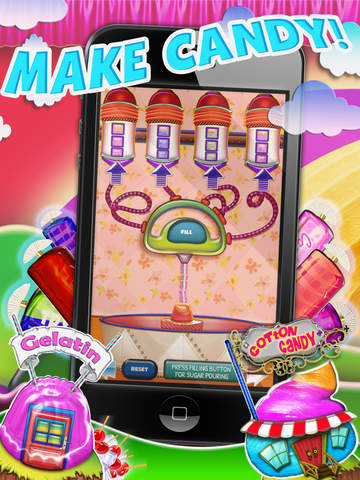 Candy Maker Factory HD – Free Sweet Food & Treats For Kids Edition