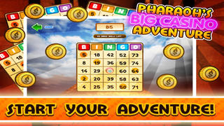 Big Win Casino Bingo – Pharaoh's Adventure