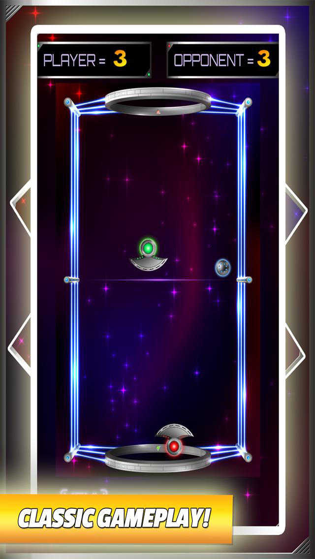 Space Galaxy League Air Hockey Free