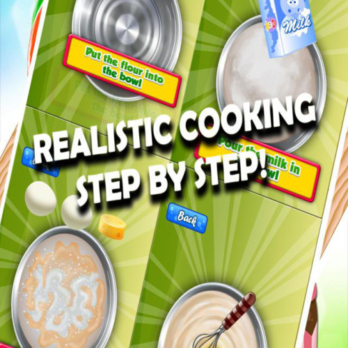 Bakery Food Dash Deluxe – Bake & Make Cakes Pizza Pancakes & Lollipops