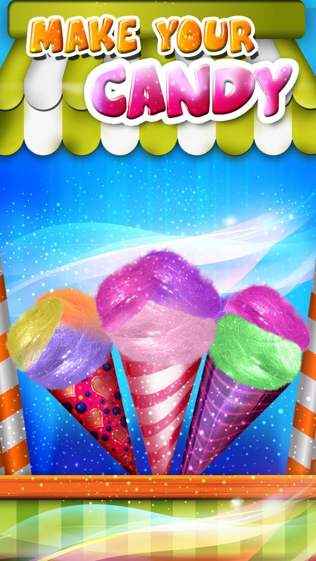 Cotton Candy Maker! Deluxe – Make Candy Floss Sweet Treats