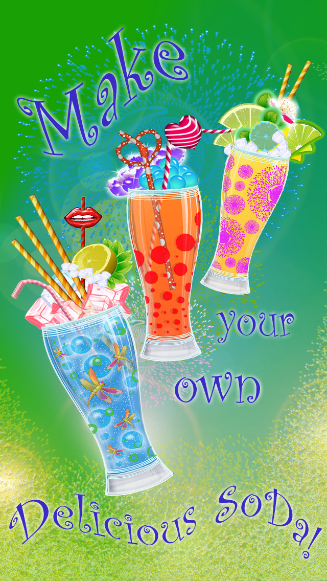 Make A Soda! – Lemonade & Cola Soft Drinks Free Maker