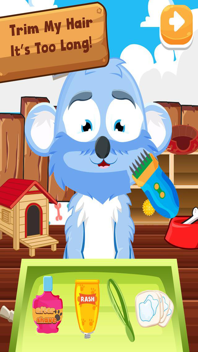 Pet Shavers Grooming Salon Spa – Free Games For Kids