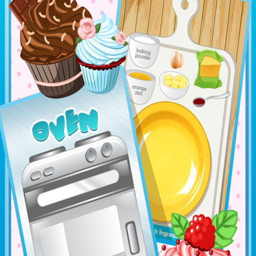 Cupcake Make & Bake Fun Food Maker Game Free